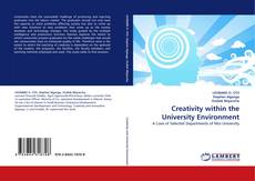 Couverture de Creativity within the University Environment