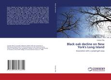 Portada del libro de Black oak decline on New York's Long Island