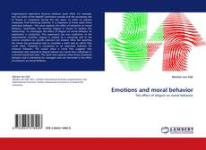 Bookcover of Emotions and moral behavior