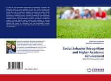 Portada del libro de Social Behavior Recognition and Higher Academic Achievement