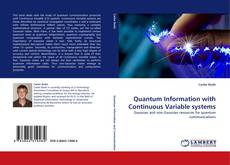 Bookcover of Quantum Information with Continuous Variable systems
