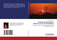Capa do livro de Energy consumption patterns in rural Zimbabwe