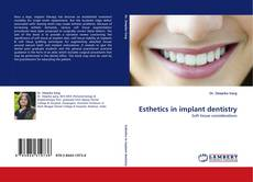 Bookcover of Esthetics in implant dentistry