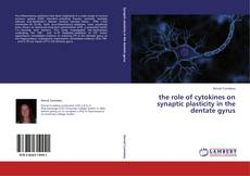 Capa do livro de the role of cytokines on synaptic plasticity in the dentate gyrus