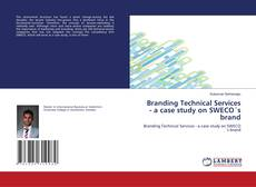 Capa do livro de Branding Technical Services - a case study on SWECO's brand