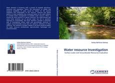 Water resource Investigation的封面