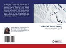 Bookcover of American option pricing