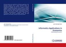 Portada del libro de Informatics Applications in Economics