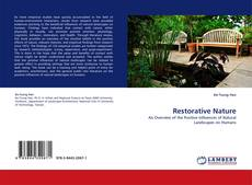 Bookcover of Restorative Nature