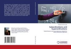 Bookcover of Subordinations and Superordinations