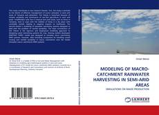 Copertina di MODELING OF MACRO-CATCHMENT RAINWATER HARVESTING IN SEMI-ARID AREAS
