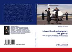 Couverture de International assignments and gender