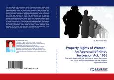 Bookcover of Property Rights of Women - An Appraisal of Hindu Succession Act, 1956