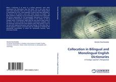 Bookcover of Collocation in Bilingual and Monolingual English Dictionaries