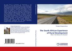 Bookcover of The South African Experience of Rural Development
