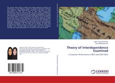 Couverture de Theory of Interdependence Examined
