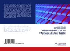 Buchcover von Development of ISE Club Information System (ISECIS)