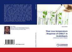 Couverture de Thee Low-temperature Response of EARLI1 in Arabidopsis