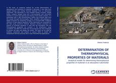 Portada del libro de DETERMINATION OF THERMOPHYSICAL PROPERTIES OF MATERIALS