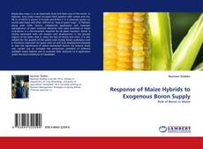 Bookcover of Response of Maize Hybrids to Exogenous Boron Supply