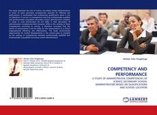 Buchcover von COMPETENCY AND PERFORMANCE