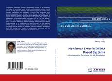 Bookcover of Nonlinear Error in OFDM Based Systems