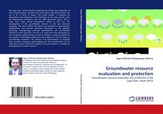 Capa do livro de Groundwater resource evaluation and protection