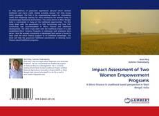 Portada del libro de Impact Assessment of Two Women Empowerment Programs