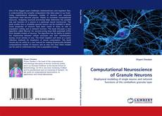 Computational Neuroscience of Granule Neurons kitap kapağı