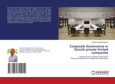 Portada del libro de Corporate Governance in Danish private limited companies
