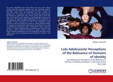 Copertina di Late Adolescents' Perceptions of the Relevance of Domains of Identity