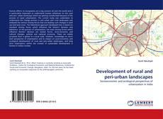 Capa do livro de Development of rural and peri-urban landscapes