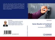 Buchcover von Some Results in Fractional Calculus