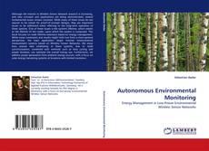Autonomous Environmental Monitoring的封面