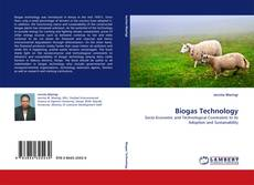 Bookcover of Biogas Technology