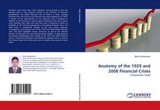 Capa do livro de Anatomy of the 1929 and 2008 Financial Crises