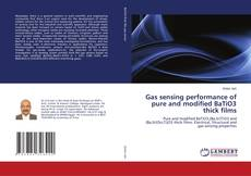 Couverture de Gas sensing performance of pure and modified BaTiO3 thick films