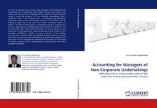 Buchcover von Accounting for Managers of Non-Corporate Undertakings