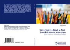 Buchcover von Corrective Feedback in Task-based Grammar Instruction