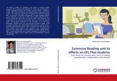 Portada del libro de Extensive Reading and its effects on EFL Thai students