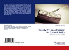 Buchcover von Velocity (V1) as an Indicator for Economic Policy