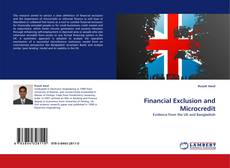 Bookcover of Financial Exclusion and Microcredit