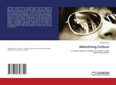 Bookcover of Advertising Culture