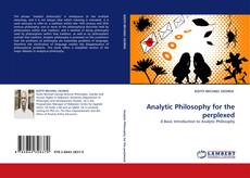 Bookcover of Analytic Philosophy for the perplexed