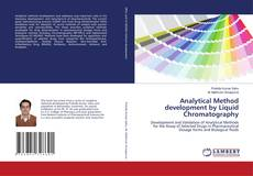 Bookcover of Analytical Method development by Liquid Chromatography