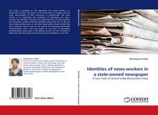 Bookcover of Identities of news-workers in a state-owned newspaper