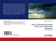 Buchcover von Lyrics of Basotho Accordion Music as an Alternative Modernity