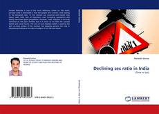 Bookcover of Declining sex ratio in India