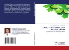 Bookcover of QUALITY ASSURANCE OF HERBAL DRUGS