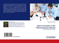 Buchcover von Open Innovation in the Pharmaceutical Industry